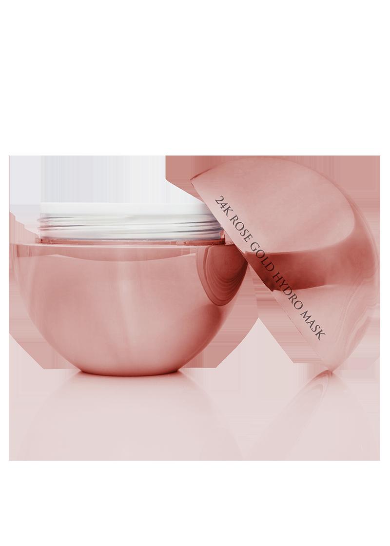 24K Rose Gold Advanced Cream removed lid